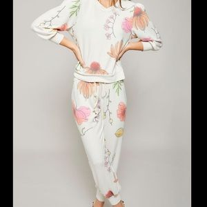 All Things Fabulous Spring Poppies Sweat set